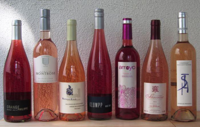 weinprobe der lenau weinhandlung: ein rosé ist ein rosé ist ein rosé