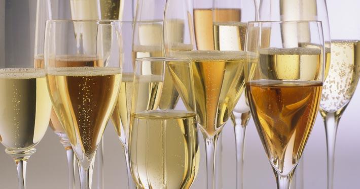 Weinprobe mit Sekt, Crémant, Champagner