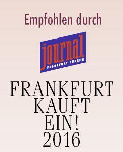 Auszeichnung in Frankfurt kauft ein 2016