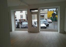 So präsentiert sich der neue Laden in der Glauburgstraße vor dem Einzug