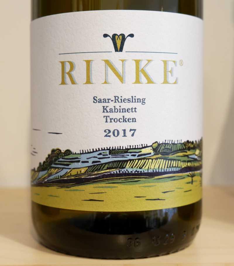 Saar Riesling Kabinett trocken von Weingut Rinke