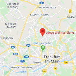 Lenau Weinhandlung in Google Maps finden