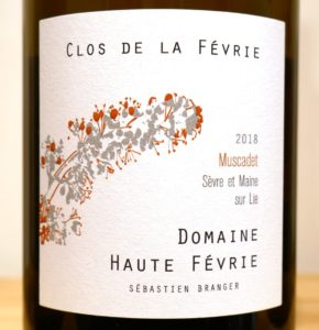 Read more about the article Muscadet sur Lie von der Domaine Haute Févrie