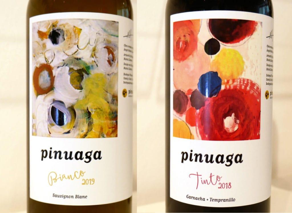 Pinuaga bianco und Pinuaga tinto