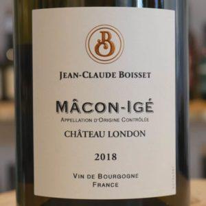 "Mâcon-Igé ""Château London"" 2018"