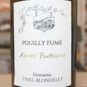ARRÊT BUFFATTE Pouilly Fumé 2018 von Domaine Tinel-Blondelet