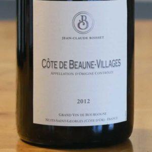 Côtes de Beaune Villages Rouge 2012 von Jean-Claude Boisset