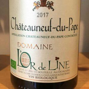 Châteauneuf-du-Pape Blanc 2017 von Domaine L'Or de Line