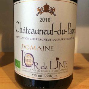 Châteauneuf-du-Pape Rouge von Domaine L'Or de Line