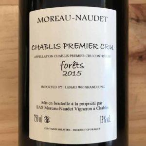 "Chablis 1er Cru ""Forêts"" 2015 von Domaine Moreau-Naudet"