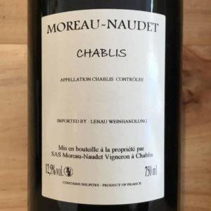 Chablis 2018 von Domaine Moreau-Naudet