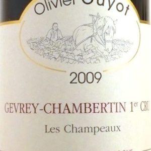 """Gevrey-Chambertin 1er Cru """"Les Champeaux"""" von Domaine Olivier Guyot"""