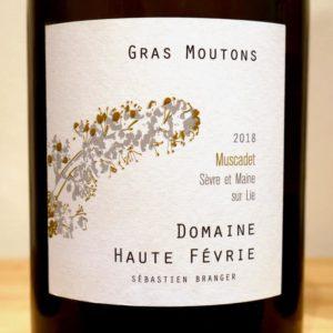 """""""Gras Moutons"""" Muscadet Sèvre et Maine sur Lie von Domaine Haute Févrie"""