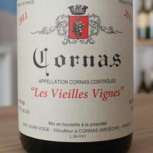 Les Veilles Vignes Cornas 2011 von Domaine Alain Voge