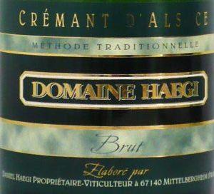 Crémant d'Alsace Brut von Domaine Haegi