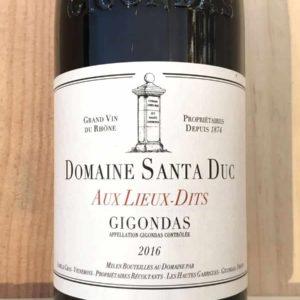 Gigondas Aux Lieux Dits von Domaine Santa Duc