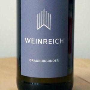 Grauburgunder trocken – Rheinhessen BIO von Weingut Weinreich