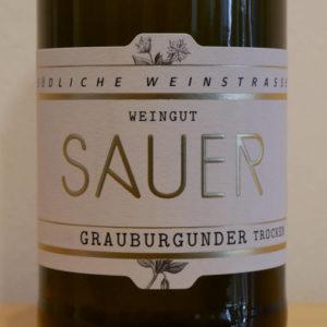 Grauburgunder von Weingut Familie Sauer