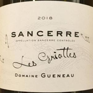 """Sancerre """"Les Griottes"""" von Domaine Alain Guéneau"""