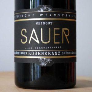 Grünfränkisch von Weingut Familie Sauer