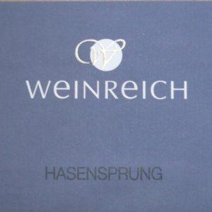 Riesling Hasensprung 2015 von Weingut Weinreich