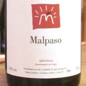 Malpaso 2017 von Bodegas Canopy