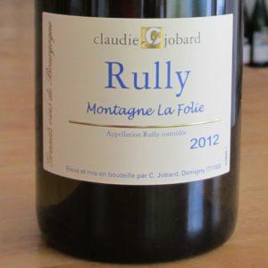 Rully Blanc Montagne La Folie von Claudie Jobard