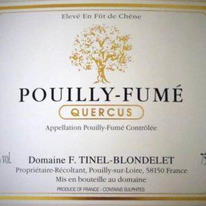 QUERCUS Pouilly Fumé von Domaine Tinel-Blondelet