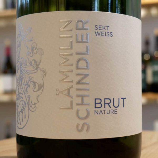 Sekt Weiss brut nature von Weingut Lämmlin-Schindler