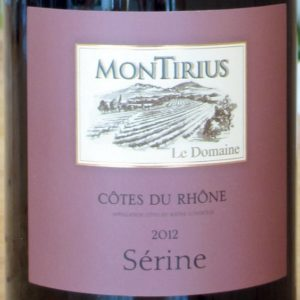 """""""Sérine"""" Côtes du Rhône von Domaine Montirius"""