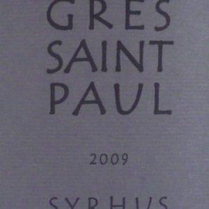 Syrhus von Château Grès Saint Paul