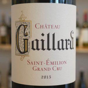 Château Gaillard 2015 Saint Émilion Grand Cru